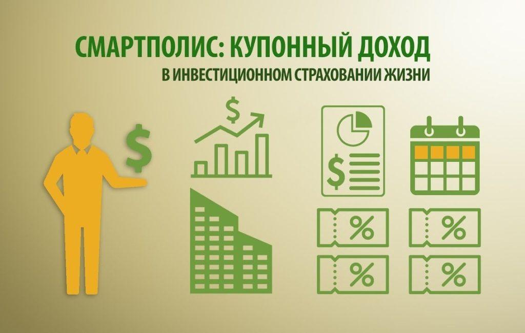 инвестиционное страхование жизни сбербанк - смартполис купонный