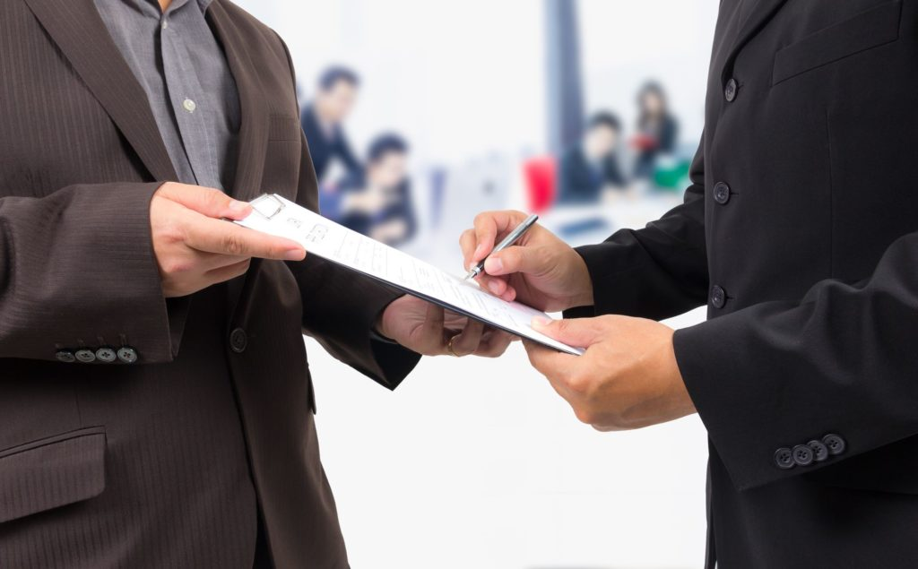 заключение договора страхования предпринимательских рисков