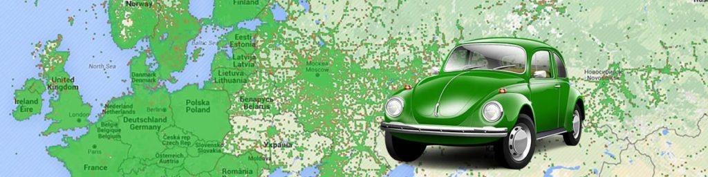 зеленая карта, в каких странах действует
