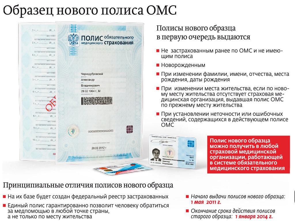 где можно заменить медицинский полис в москве