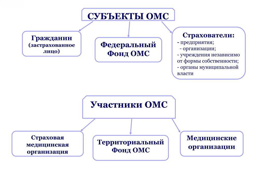 как узнать оказанные услуги по полису ОМС, субьекты ОМС