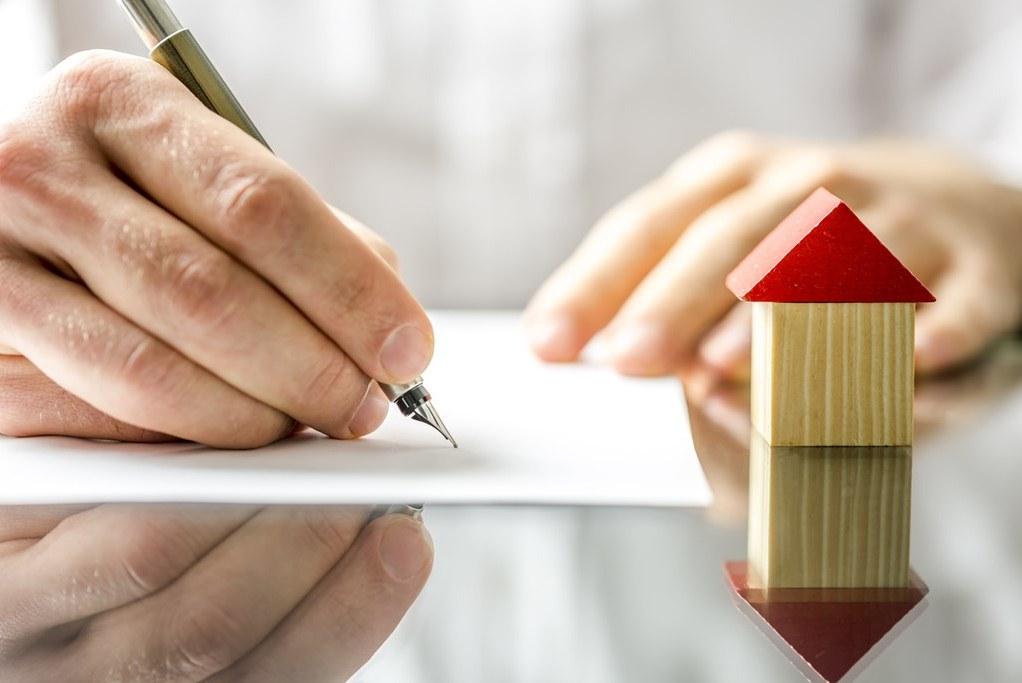 подписание договора при оформлении страхования дома