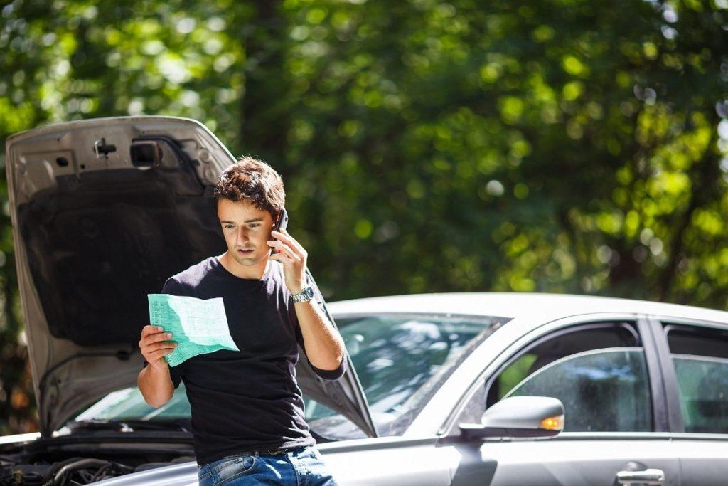звонок на горячую линию в банк Тинькофф при страховом случае по Осаго