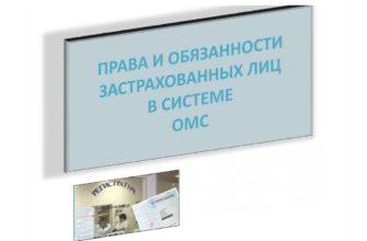 права и обязанности застрахованных лиц в системе ОМС