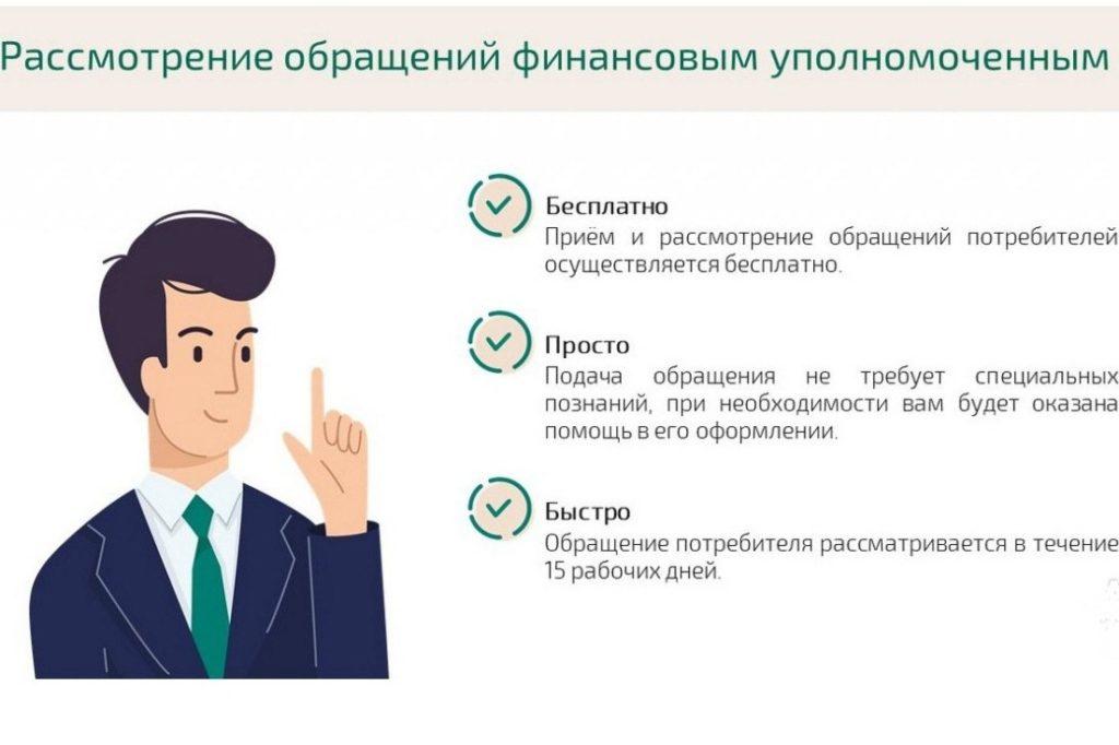 порядок рассмотрения заявления омбудсменом по ОСАГО
