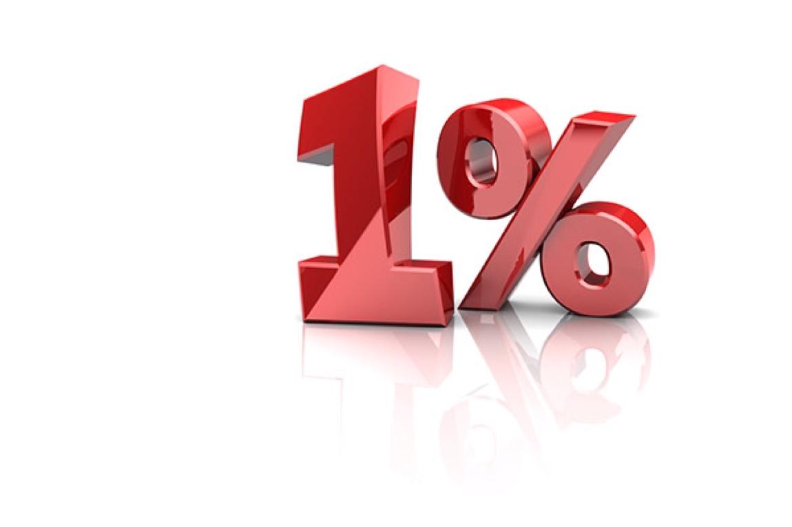 Уменьшение авансового платежа страховых взносов по ЕНВД и УСН на 1%