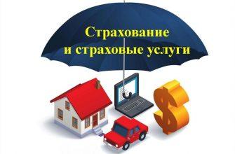 виды страховых услуг