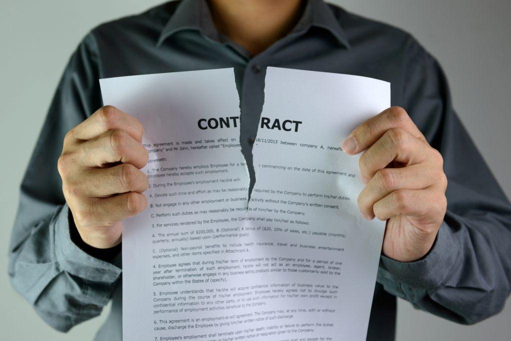 расторжение договора заемщика автокредита